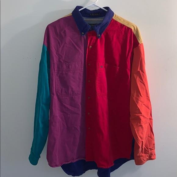 Colours Other - Vintage Men's Multicolored shirt